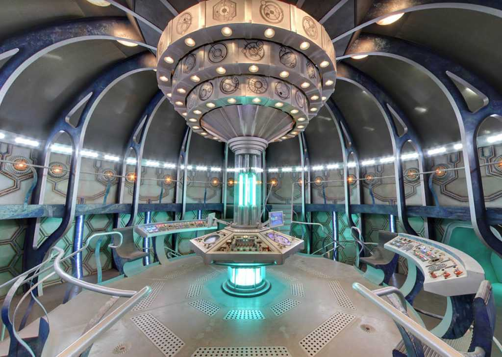Explore the inside of Doctor Who\u0027s Tardis with Google Streetview